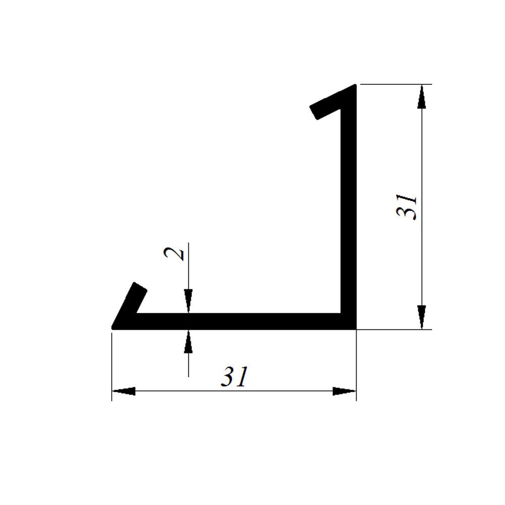 4713 Köşebent profili